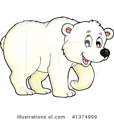 Polar Bear Clipart #1374999 by visekart