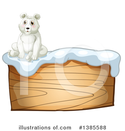 Polar Bear Clipart #1385588 by Graphics RF