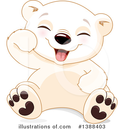 Polar Bear Clipart #1388403 by Pushkin