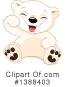 Royalty-Free (RF) Polar Bear Clipart Illustration #1388403