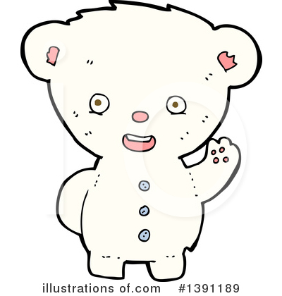 Teddy Bear Clipart #1391189 by lineartestpilot