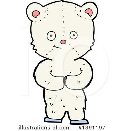 Teddy Bear Clipart #1391197 by lineartestpilot