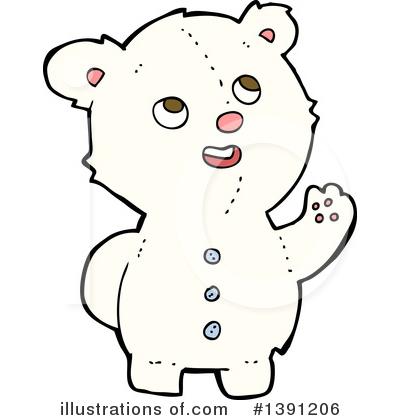 Teddy Bear Clipart #1391206 by lineartestpilot