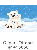 Polar Bear Clipart #1415650 by Pushkin