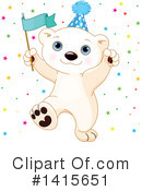 Polar Bear Clipart #1415651 by Pushkin