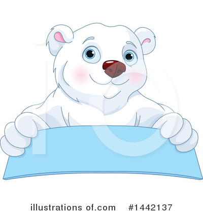 Polar Bear Clipart #1442137 by Pushkin
