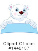 Royalty-Free (RF) Polar Bear Clipart Illustration #1442137