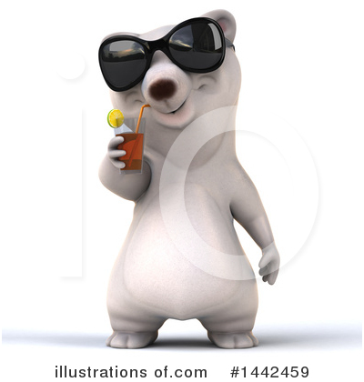 Polar Bear Clipart #1442459 by Julos