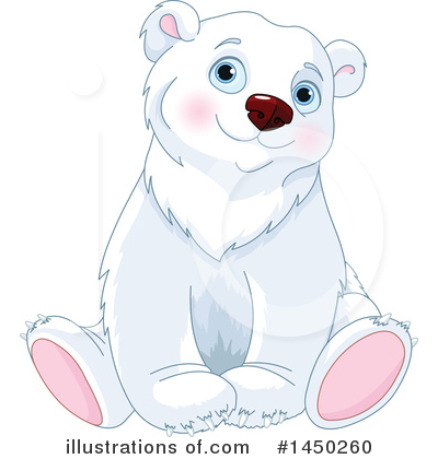 Polar Bear Clipart #1450260 by Pushkin