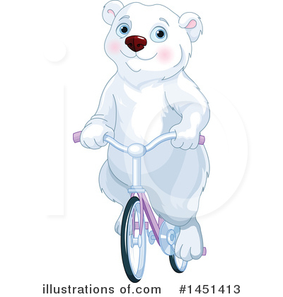 Polar Bear Clipart #1451413 by Pushkin