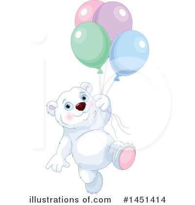 Polar Bear Clipart #1451414 by Pushkin