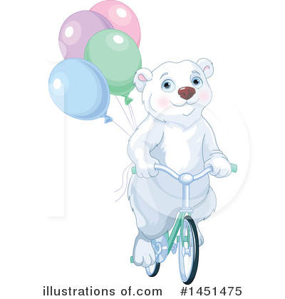 Royalty-Free (RF) Polar Bear Clipart Illustration by Pushkin - Stock Sample #1451475