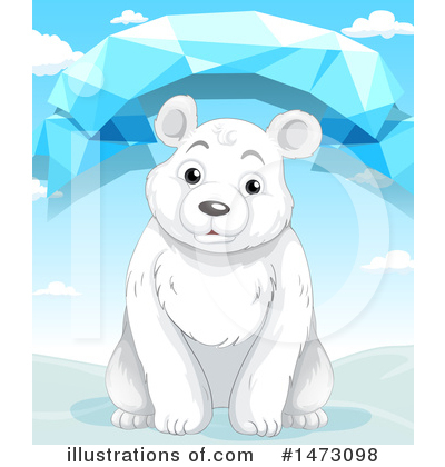 Polar Bear Clipart #1473098 by Graphics RF
