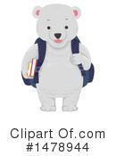 Royalty-Free (RF) Polar Bear Clipart Illustration #1478944