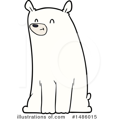 Polar Bear Clipart #1486015 by lineartestpilot