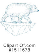 Polar Bear Clipart #1511678 by patrimonio