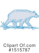 Polar Bear Clipart #1515787 by patrimonio
