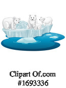 Polar Bear Clipart #1693336 by Graphics RF