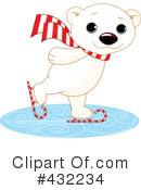 Royalty-Free (RF) Polar Bear Clipart Illustration #432234