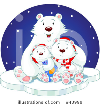 Polar Bear Clipart #43996 by Pushkin