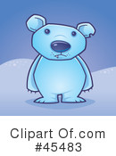 Polar Bear Clipart #45483 by John Schwegel