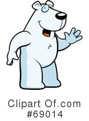 Royalty-Free (RF) Polar Bear Clipart Illustration #69014