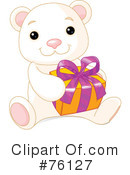 Royalty-Free (RF) Polar Bear Clipart Illustration #76127