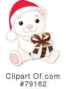 Royalty-Free (RF) Polar Bear Clipart Illustration #79162