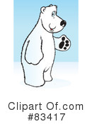 Polar Bear Clipart #83417 by Snowy