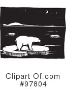 Royalty-Free (RF) Polar Bear Clipart Illustration #97804
