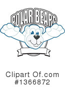 Polar Bear School Mascot Clipart #1366872 by Toons4Biz