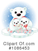 Royalty-Free (RF) Polar Bears Clipart Illustration #1086453