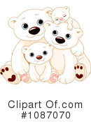 Royalty-Free (RF) Polar Bears Clipart Illustration #1087070