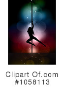 Pole Dancer Clipart #1058113 by KJ Pargeter