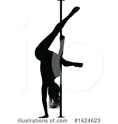 Royalty-Free (RF) Pole Dancer Clipart Illustration by AtStockIllustration - Stock Sample #1624623