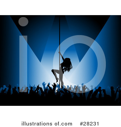 Pole Dancing Clipart #28231 by KJ Pargeter