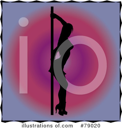 Pole Dancing Clipart #79020 by Pams Clipart