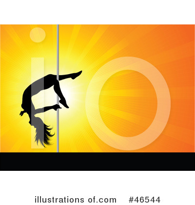 Pole Dancing Clipart #46544 by KJ Pargeter