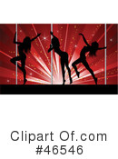 Pole Dancing Clipart #46546 by KJ Pargeter