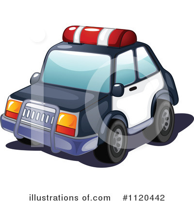 Police Car Clipart #1120442 by Graphics RF