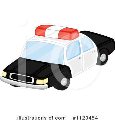 Police Car Clipart #1120454 by Graphics RF