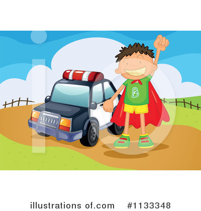 Police Car Clipart #1133348 by Graphics RF