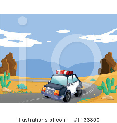 Police Car Clipart #1133350 by Graphics RF