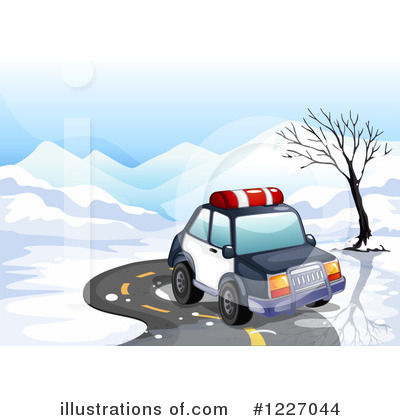 Police Car Clipart #1227044 by Graphics RF