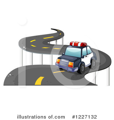Police Car Clipart #1227132 by Graphics RF