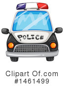 Royalty-Free (RF) Police Car Clipart Illustration #1461499