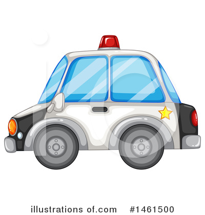 Police Car Clipart #1461500 by Graphics RF