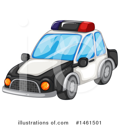 Police Car Clipart #1461501 by Graphics RF