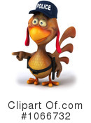 Police Chicken Clipart #1066732 by Julos