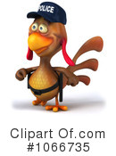 Police Chicken Clipart #1066735 by Julos